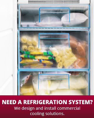 Need a Refrigeration System? | We design and install commercial cooling solutions. | freezer