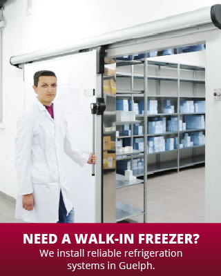 Need a Walk-in Freezer? | We install reliable refrigeration systems in Guelph. | walk-in freezer